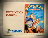 Ikari Warriors II Victory Road - 1987 NES Nintendo - Instruction Manual Only
