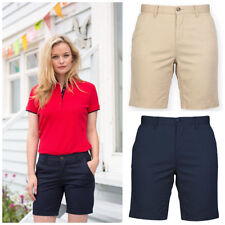 Cotton Blend Mid 7-13 in. Inseam Shorts for Women