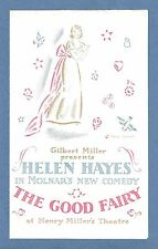 "Helen Hayes ""THE GOOD FAIRY"" Walter Connolly / Ferenc Molnar 1931 Broadway Flyer"