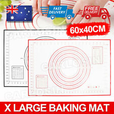60*40cm Non-Stick Silicone Rolling Baking Pastry Dough Cake Fondant Sheet Mat