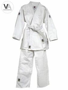 Matsuru Tyro Kinder Judoanzug/Karateanzug Komplett-Set Kampfsport Einsteiger