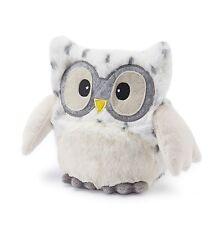 Cozy Plush Intelex Hooty Heatable Owl Microwavable Lavender Soft Toy Snowy White