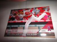 "SHOHEI OHTANI. ROOKIE CARD, LA ANGELS, 2018 TOPPS ""TOPPS NOW"" 234"