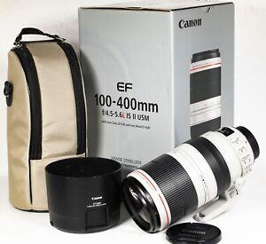 Canon EF 100-400mm F4.5-5.6 L IS II USM Image Stabiliser Telephoto Zoom Lens