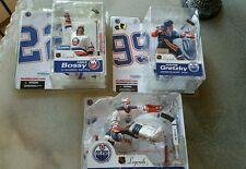 3 NEW MCFARLANE LEGENDS SERIES 2 BOSSY GRETZKY FUHR OILERS RANGERS NHL FIGURES