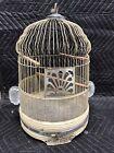 Antique Dome Wire Bird Cage Wedding Garden Collectible Shabby Chic Repurpose