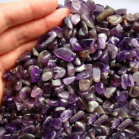 100g Natural Mini Amethyst Point Quartz Crystal Stone Rock Chips Healing 5-10MM