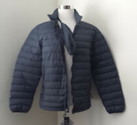 Weatherproof 32° Degrees Men Size S Navy Blue Down Puffer Jacket Packable NWT