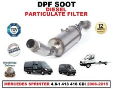 Filtro de Partículas Diesel Dpf para Mercedes Sprinter 4.6-t 413 416 CDI