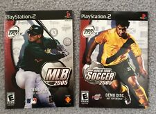 PlayStation 2 Demo Discs - MLB 2005 And Soccer 2005 - Sealed - USA SHIP