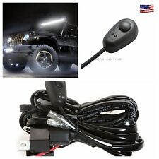 8 Feet 40A 12V Power Switch & Relay Wiring Harness Kit for LED Light Bar Offroad