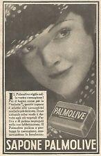 W4906 Sapone PALMOLIVE - Pubblicità del 1934 - Vintage advertising