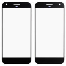 For Google Pixel XL 5.5 Front Outer Glass Screen Lens Cover Black Replacement