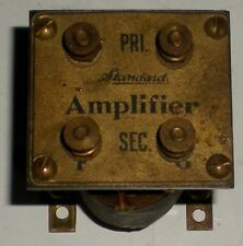 ELECTRICAL CONTROL TRANSFORMER VINTAGE BRASS AMPLIFIER TESTED WORKING