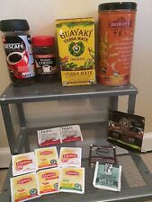 45+Bags Black+Other Tea Taylor's Tazo Lipton Rituals Yerba Mate+Instant Coffee