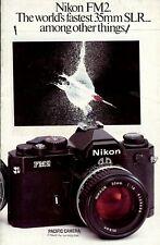 Prospekt Nikon FM2 English