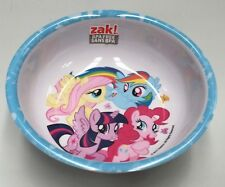 DISNEY MY LITTLE PONY KIDS MELAMINE FOOD DINNER BOWL ZAK DESIGNS