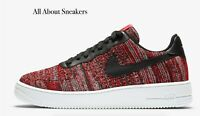 "Nike Air Force 1 Flyknit 2.0 ""University"" Men's Trainers Limited Stock All Sizes"