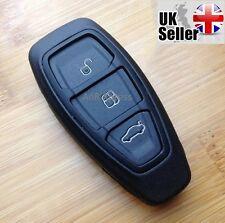 """3 Button Smart clé Pour Ford Fiesta Focus Mondeo C-Max S-Max Galaxy """"AVEC LOGO"""""""