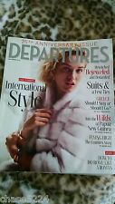 DEPARTURES MAGAZINE SEPTEMBER 2014 25th ANNIVERSARY ISSUE INTERNATIONAL STYLE