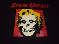 Speak Uneasy / Misfits Shirt ( Size XL ) NEW!!!