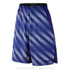 Nike sz M Men's Hyperspeed Hazard Flow Shorts New 742240 455 Blue / White