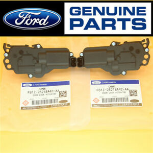 Pair Front or Rear Power Door Lock Actuators F81Z25218A42AA for Ford Expedition