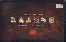 2003 Canada Specimen Coin Set in Original box & COA