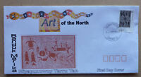 2017 ART OF THE NORTH BANDUK MARIKA $2 ILLUSTRATED FDC