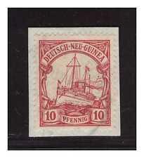 DNG ° Seepost Deutsch Neuguinea-Singapore 8.4.13  Kab.- Briefstück  ° 250 €