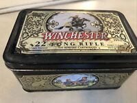 """TIN CAN WINCHESTER EMPTY 6""""X4"""" OLIN USA LIMITED EDITION .22 LONG RIFLE 1993"""