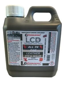Leather Paint Colourant All In One Repair Dye, Re-colour For Sofas, Car Seats.