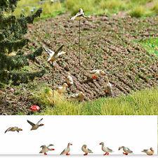 Wild Geese 8pcs H0 1:87 Model BUSCH