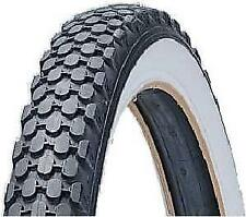 "2X DURO 24"" Dragster Bike Tyre - 24"" x 2.125"" - White Wall Retro Vintage Cruiser"