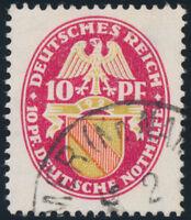 DR 1926, MiNr. 399 X, gestempelt, gepr. Schlegel, Mi. 1200,-