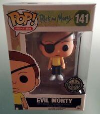 Evil Morty Rick & Morty  Exclusive Funko Pop Animation Figure