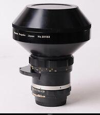 Lens Nippon Kogaku Nikon 2.8/8mm  Fisheye
