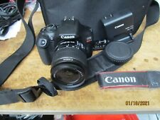 CANON EOS REBEL T6   pre owned   Digital Camera SLR   with accessories