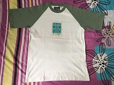 VINTAGE MAMBO 1999 90'S GRAPHICS CODE BLACK RAGLAN MADE IN AUSTRALIA T-SHIRTS