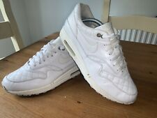 Nike Air Max 1 Premium UK9 Quilted Pack White Mens Trainers