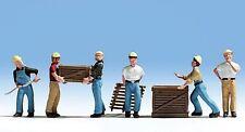Figuren Noch H0 (15031): 6 Arbeiter