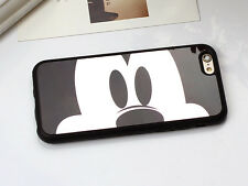 B018 Mirror Case For iPhone 7 7 Plus 5 5s SE iPhone 6 6s Plus Mickey Minnie