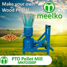 PTO PELLET MILL FOR WOOD - MKFD200P - FREE SHIPPING