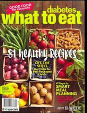Diabetes What To Eat 2017 Diabetic Living - Smart Meal Planning BHG SIP