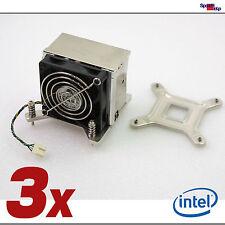 3x CPU Ordenador Ventilador Enfriador para intel zócalo 775 S775 Alta Calidad
