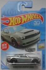 2018 Hot Wheels  '18 Dodge Challenger SRT Demon (Zamac #16)