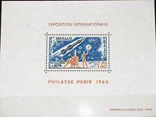 MONACO 1964 Maury BS 5 772 DELUXE PHILATEC Paris Space Rocket Communication MNH