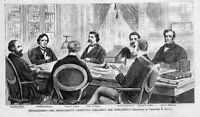 PRESIDENT ANDREW JOHNSON HISTORY, IMPEACHMENT COMMITTEE PREPARING INDICTMENT