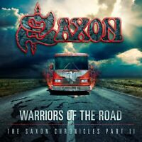 SAXON - WARRIORS OF THE ROAD-THE SAXON CHRONICLES PART II 2 CD + DVD NEW+