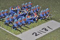 15mm 19th century / russoturkish - turkish infantry 27 figs - inf (21181)